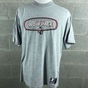 VTG North Carolina State Wolf Pack T-Shirt Size L